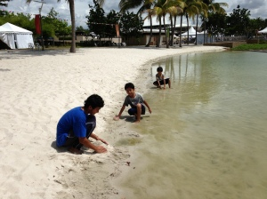Imagine a beach in Putrajaya! Yeay.