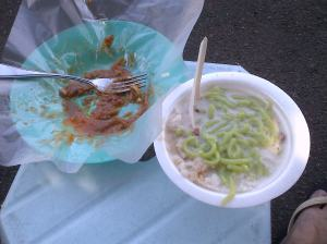 Cendol, The perfect companion for Rojak. A great way to end a ride session