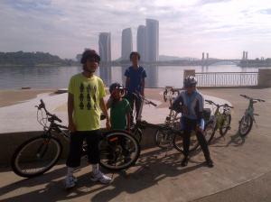 Near the Putrajaya Maritime Center
