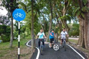 biking path in shah alam
