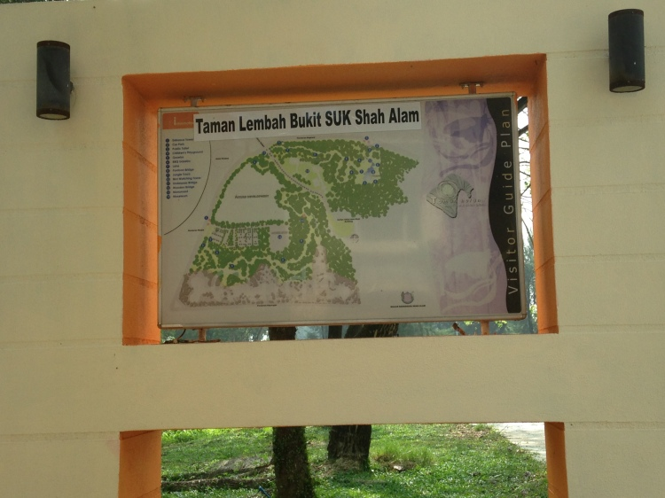 Signboard for orientation